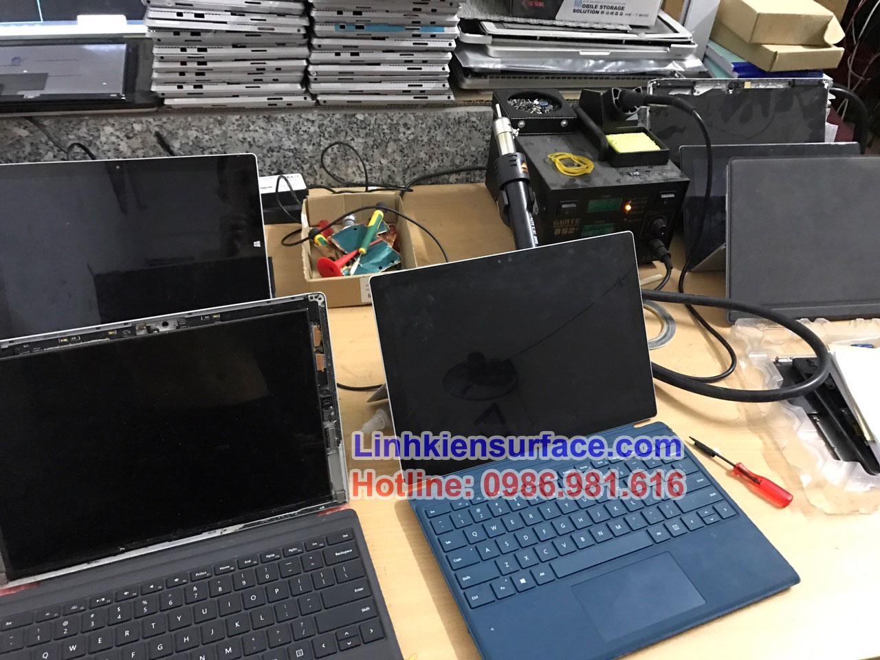Sửa bàn phím surface pro 4